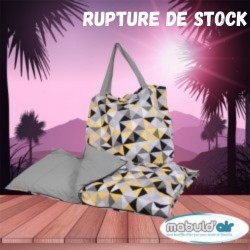sac couchage Zélie Jaune  laine mouton france