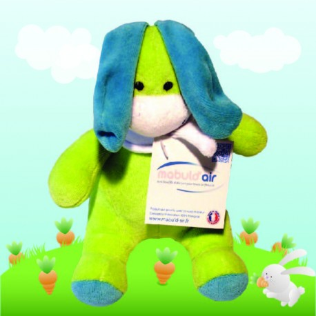Peluche made in France Lapin Seigneur Anis
